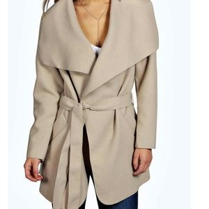 Petite Sinead Belted Shawl CollarCoat